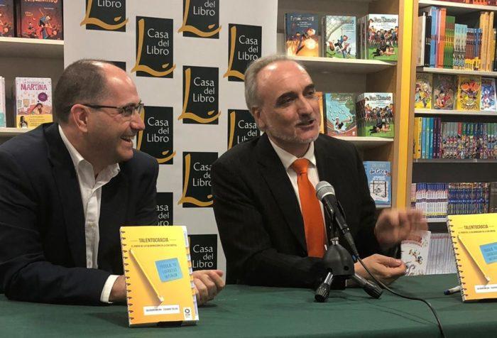 Eduardo Toledo y Salvador Molina charlan con los lectores sobre 'Talentocracia: el poder de de la colaboración en la era digital'.