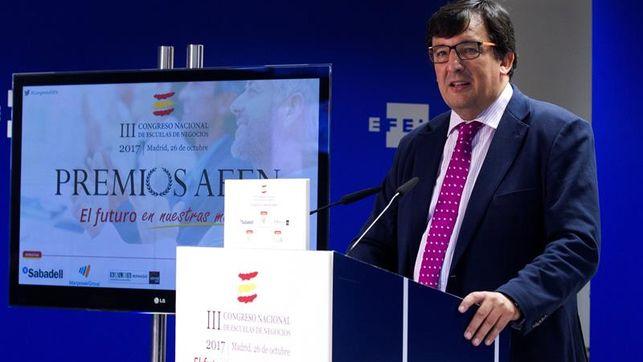 Antonio Alonso, presidente de la Asociación Española de Escuela de Negocios.