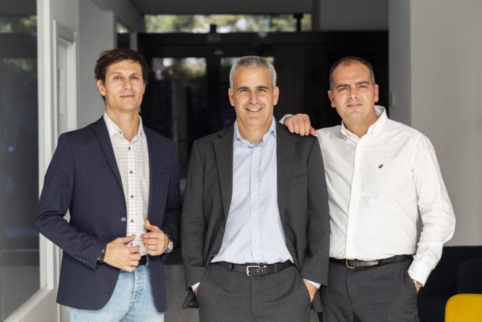 Álvaro Menéndez, WealthTech Manager; Jorge Sieiro, cofundador y COO; y Pedro Perelló, cofundador, CEO y CTO.