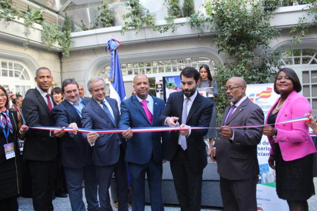Inauguración de la Feria Dominicana en España 2018.