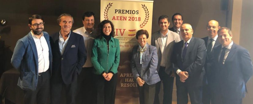 Foto de grupo del Jurado de los Premios AEEN 2018.