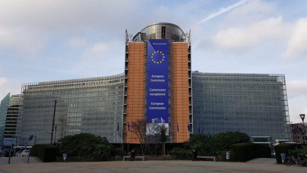 Sede de la Comisión Europea en Bruselas (Bélgica)