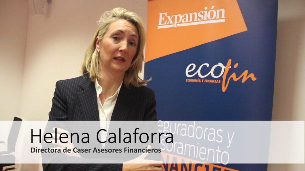 """Helena Calaforra (Caser Asesores Financieros): """"El último año crecimos en torno a un 29 por ciento y en esa senda de crecimiento queremos continuar""""."""