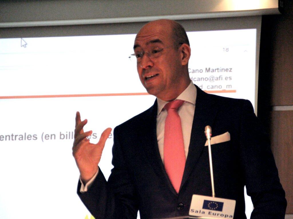 """David Cano (AFI): """"Hemos salido de la situación tan complicada que atravesaba la economía española con ciertos atributos y ciertas ventajas""""."""