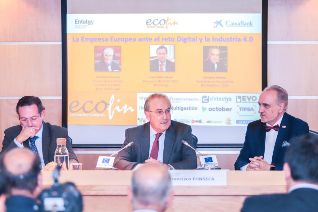 Juan Pablo Lázaro, Francisco Fonseca y Salvador Molina - Foto Rocío DG
