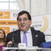 Luis Marco Aguiriano, Secretario de Estado para la UE, durante su discurso en La Noche de las Finanzas 2019 / Fotografía: Florencia Foresi.