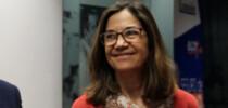 """Alicia Sánchez (SegurCaixa Adeslas) :""""El crecimiento de la prestación y la mejora de las propias propuestas asistenciales tiran del sector Seguros y es un elemento facilitador para el crecimiento en el futuro"""" / Fotografía: Salvador Carnicero."""